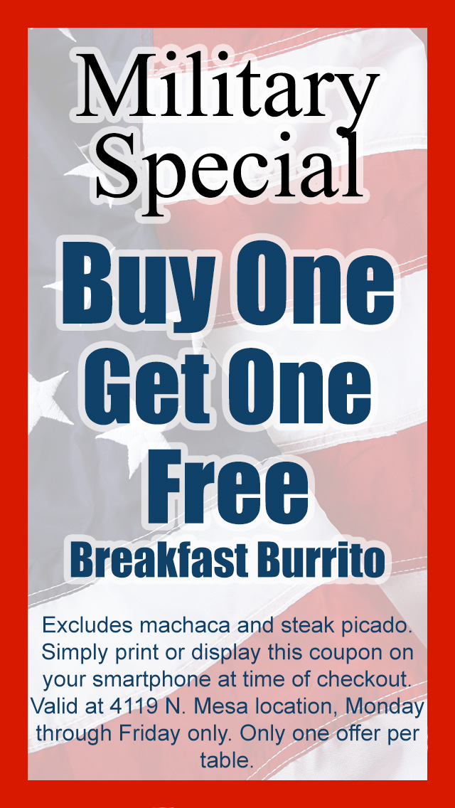 Lucy 39 s cafe specials for Restaurants that offer military discount